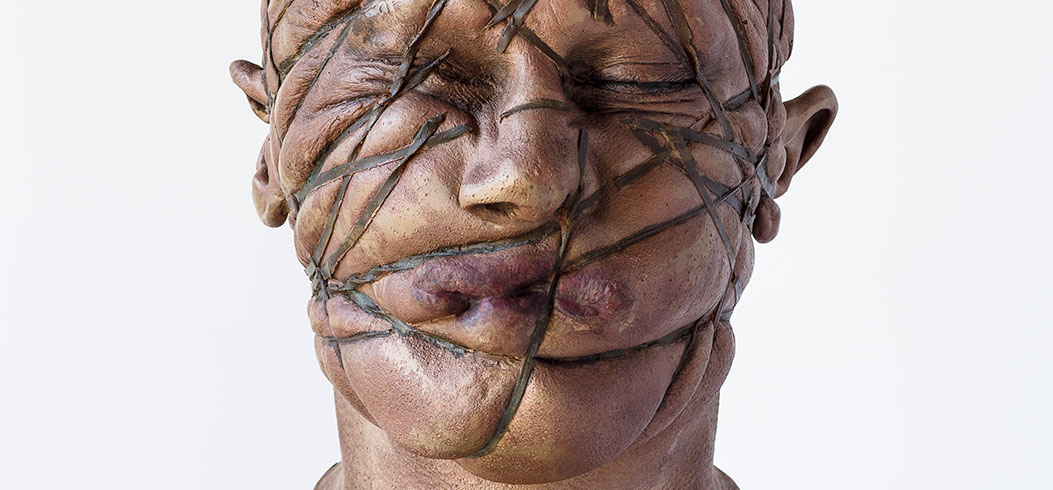 """Head"" - sculpture by Philipp Penz - www.philipppenz.com"