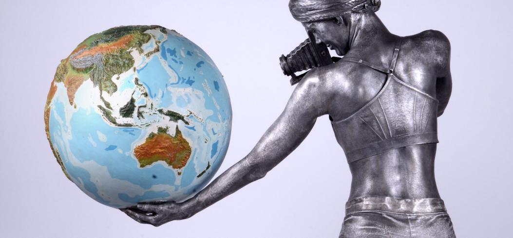 """Watch"" - sculpture by Philipp Penz - www.philipppenz.com"