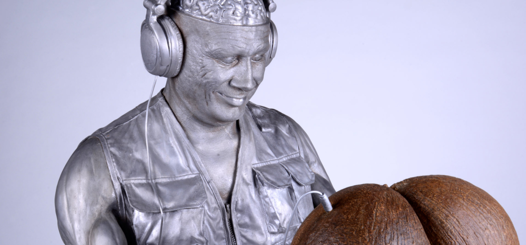 """Coco de mer"" - sculpture by Philipp Penz - www.philipppenz.com"