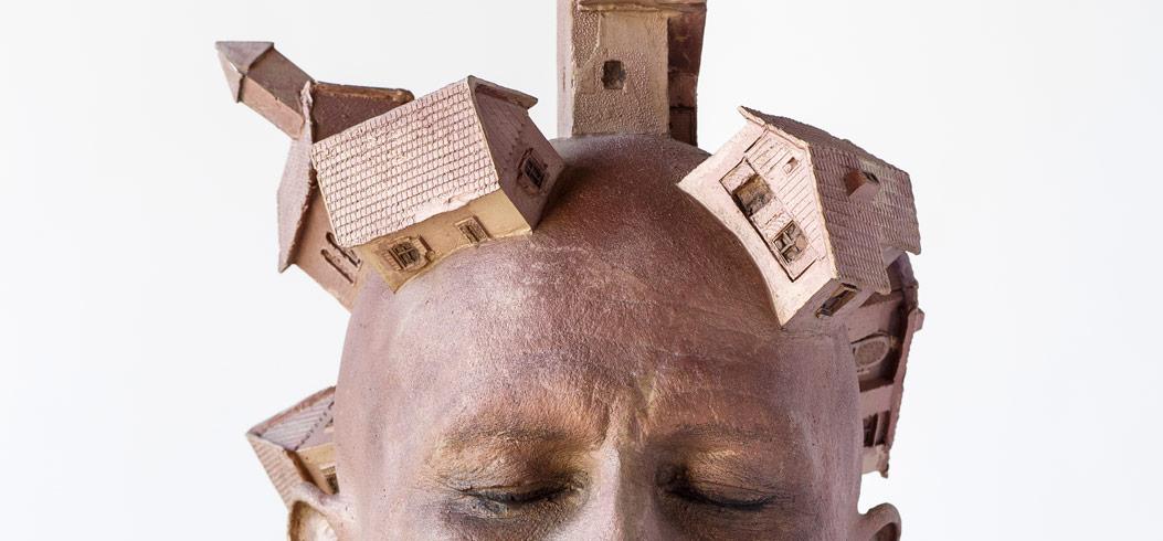 """Head"" - sculpture by Philipp Penz - www.philipppenz.com"