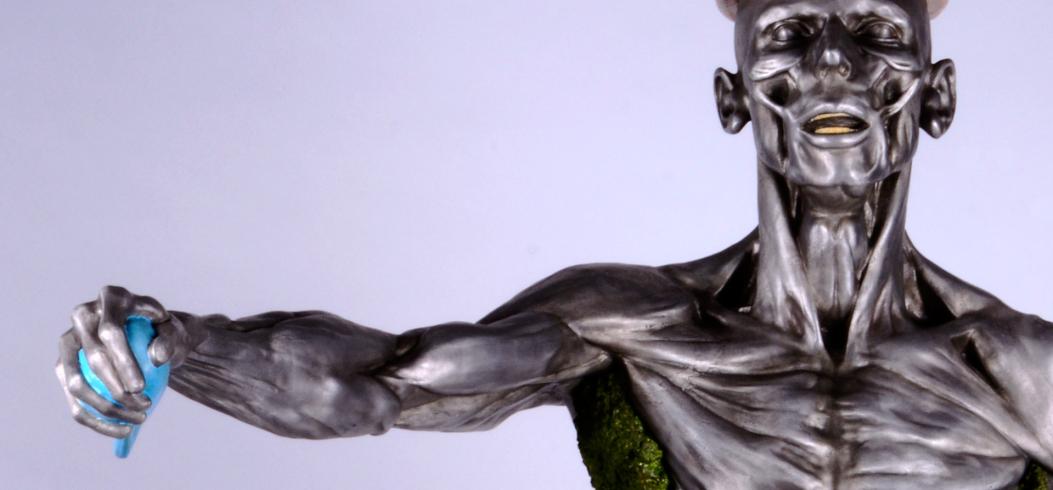 """Selfie"" - sculpture by Philipp Penz - www.philipppenz.com"