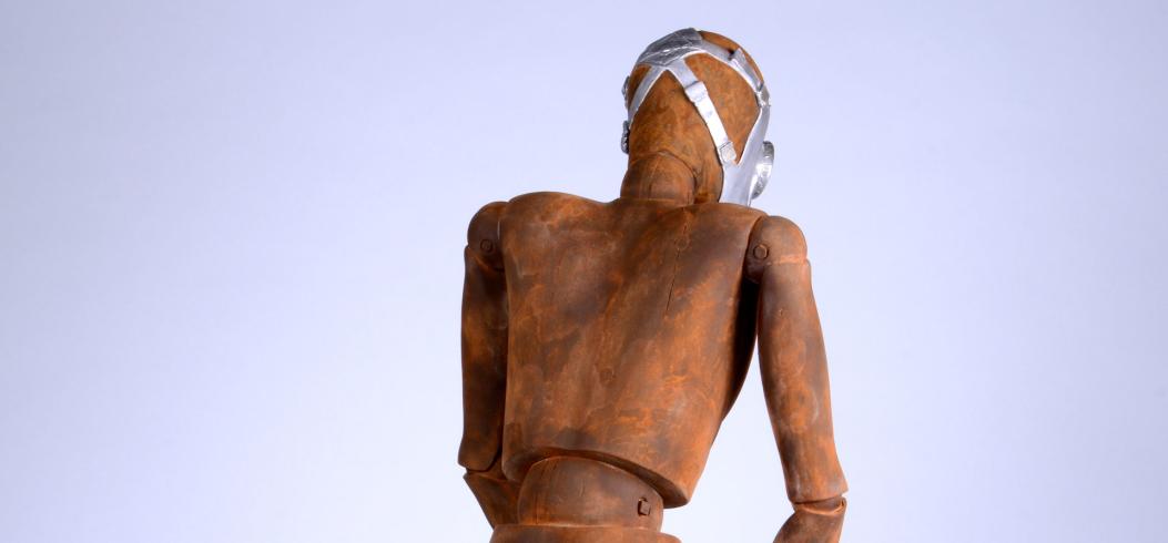 """Time Out"" - sculpture by Philipp Penz - www.philipppenz.com"